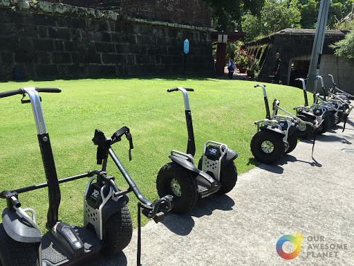 Segway in Intramuros